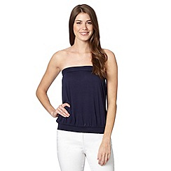 The Collection - Navy bandeau top