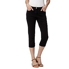 The Collection - Black cropped jeans