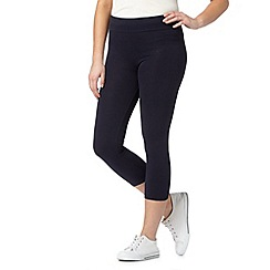 The Collection - Navy cropped leggings