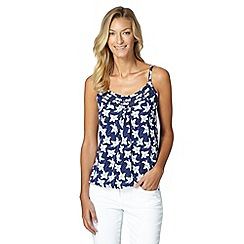 The Collection - Navy lily cami top