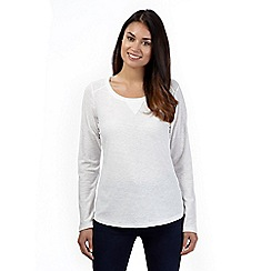 The Collection - Ivory long sleeved top