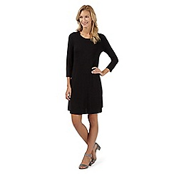 The Collection - Black scoop dress