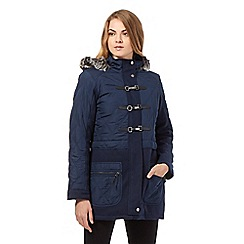 The Collection - Navy duffle parka jacket