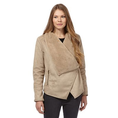 The Collection Beige shearling jacket