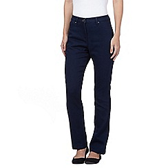The Collection - Indigo wash shape enhancing straight leg jeans