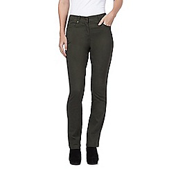 The Collection - Khaki straight leg jeans