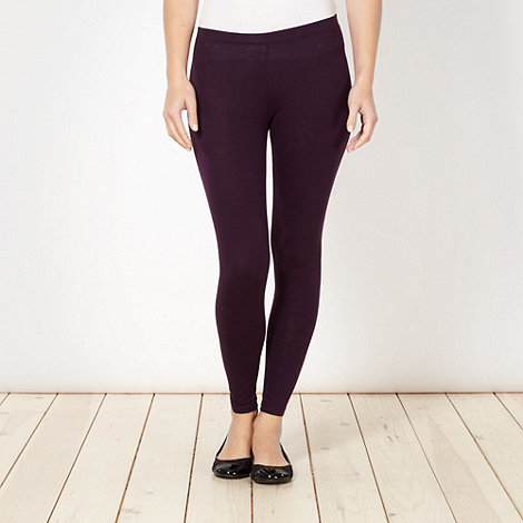 The Collection - Purple full length leggings