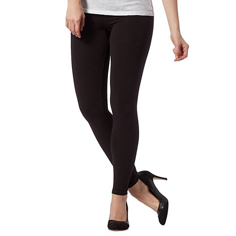 The Collection - Black full length leggings