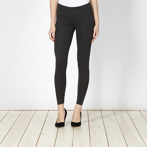 The Collection - Dark grey full length leggings