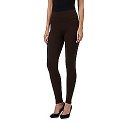 The Collection - Brown full length leggings