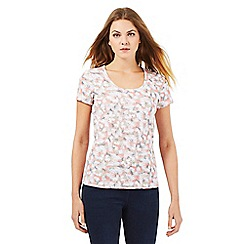 The Collection - Light pink studded butterfly print top