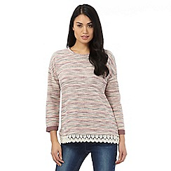 The Collection - Pink striped jumper