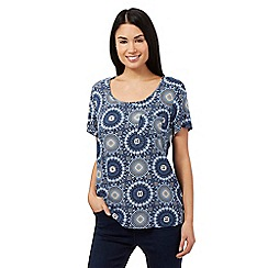 The Collection - Blue circle top