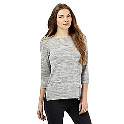 The Collection - Grey space dye tunic