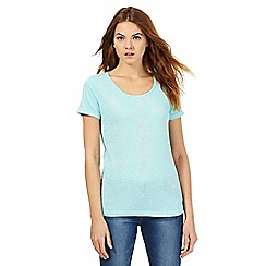 The Collection - Aqua burnout effect top