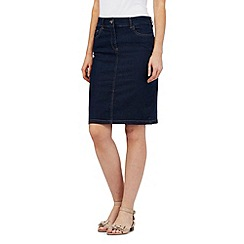 The Collection - Blue denim skirt
