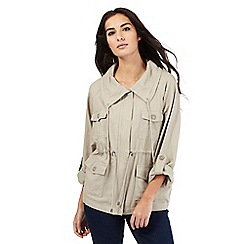 The Collection - Beige linen jacket
