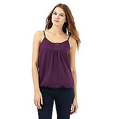 The Collection - Dark purple cami top