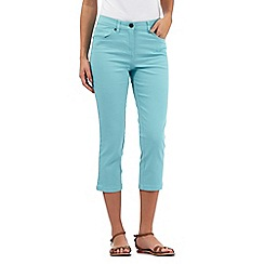The Collection - Aqua cropped jeans