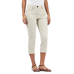 The Collection - Beige cropped jeans