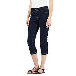 The Collection - Dark blue cropped jeans