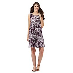 The Collection - Purple floral print dress