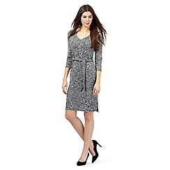 The Collection - Grey space dye dress