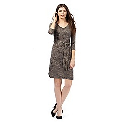 The Collection - Brown space dye dress