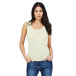 The Collection - Lime scoop neck vest