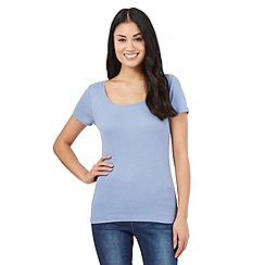 The Collection - Light blue scoop neck t-shirt