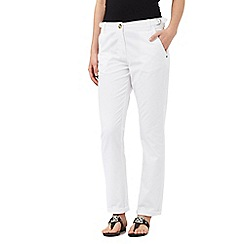 The Collection - White chino trousers