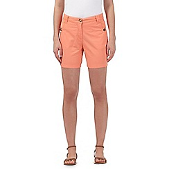 The Collection - Pale peach chino shorts