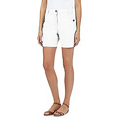 The Collection - White chino shorts