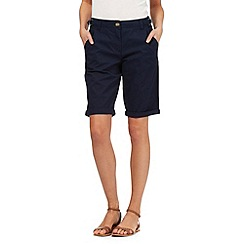 The Collection - Navy chino shorts