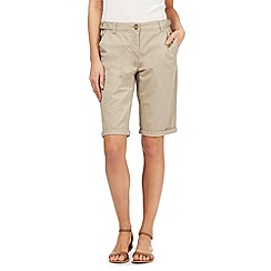 The Collection - Beige chino shorts