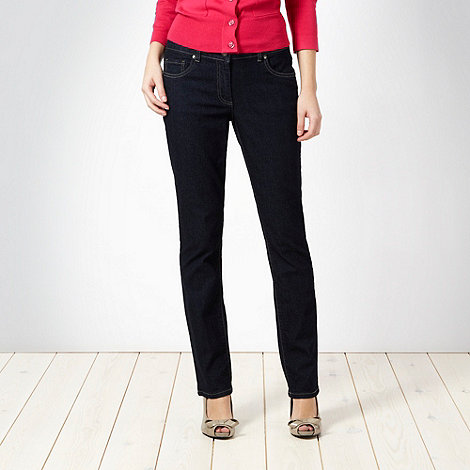 The Collection - Dark blue slim leg stretch jeans
