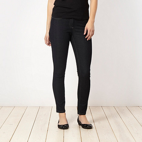 The Collection - Near black soft stretch skinny jeans