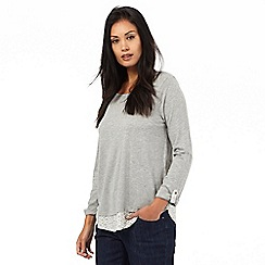 The Collection - Grey two in one top