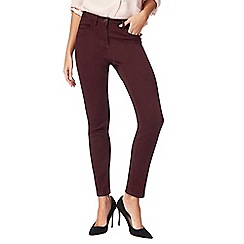The Collection - Dark purple slim fit jeggings