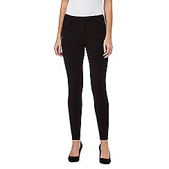 The Collection - Black pocket trim leggings