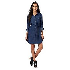 The Collection - Blue denim shirt dress