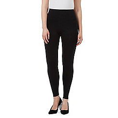 The Collection Petite - Black full length petite leggings