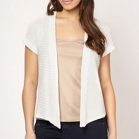 The Collection - Cream sequin knit shrug