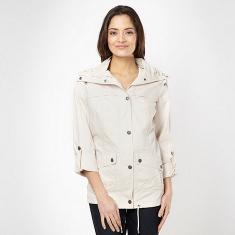 The Collection - Beige fly collar jacket