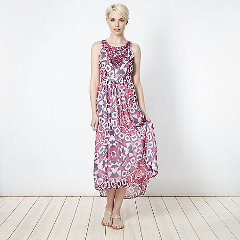 The Collection - Pink totem maxi dress