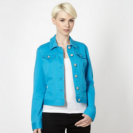 The Collection - Blue canvas jacket