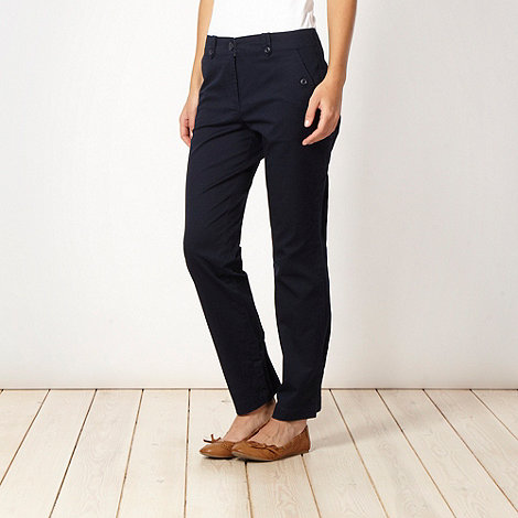The Collection - Navy blue chino trousers