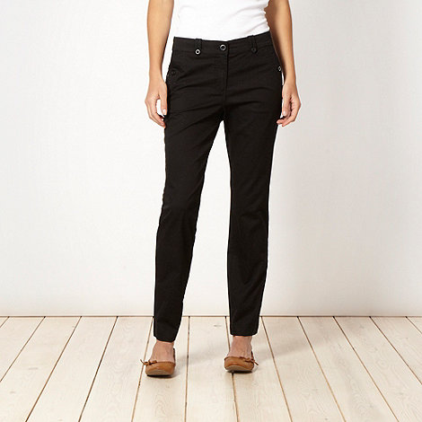 The Collection - Black chino trousers