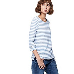 The Collection - Blue stripe pocket top
