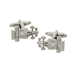 Thomas Nash - Silver F1 car cufflinks